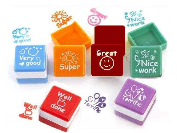 Self inking stamps for teachers, via Rainbow Creations