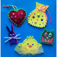 Simple Sewing Projects Set For Children