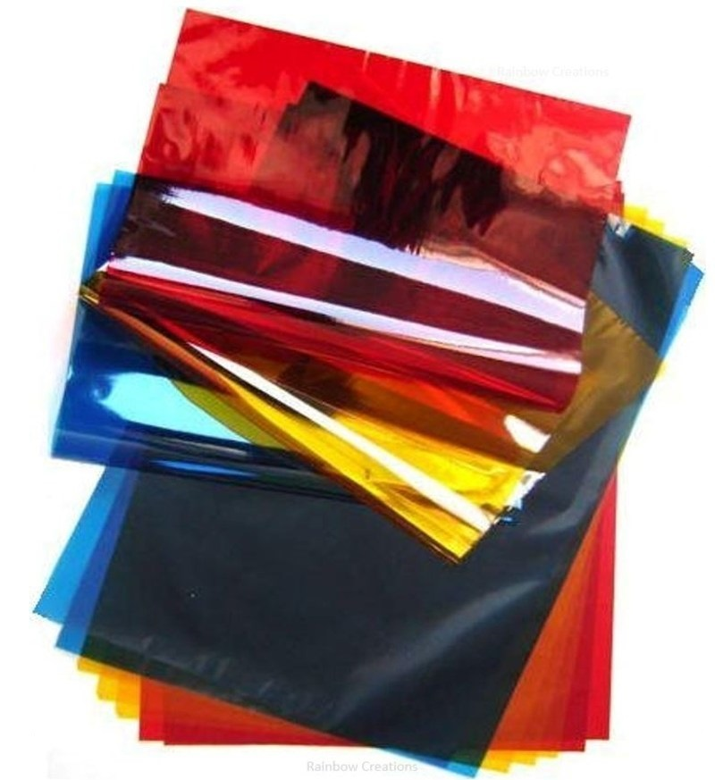 Coloured Cellophane Sheets