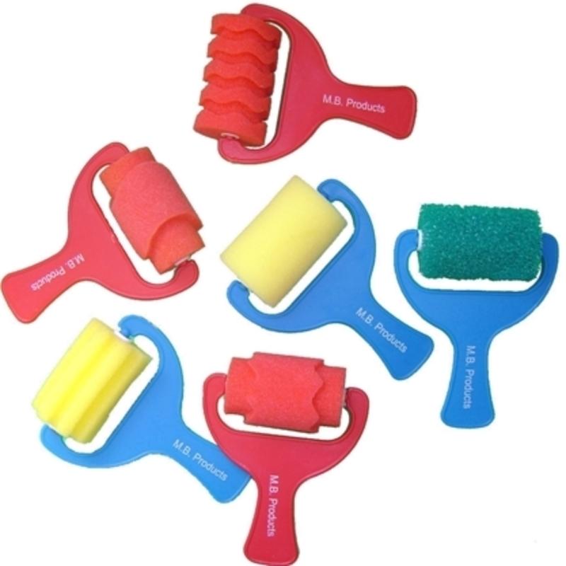 Childrens Sponge Paint Rollers | Children\'s Art Materials