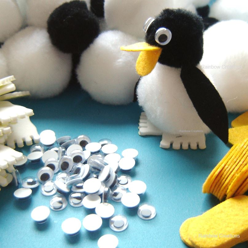 Pom pom Penguins - Bulk Class Craft Kit