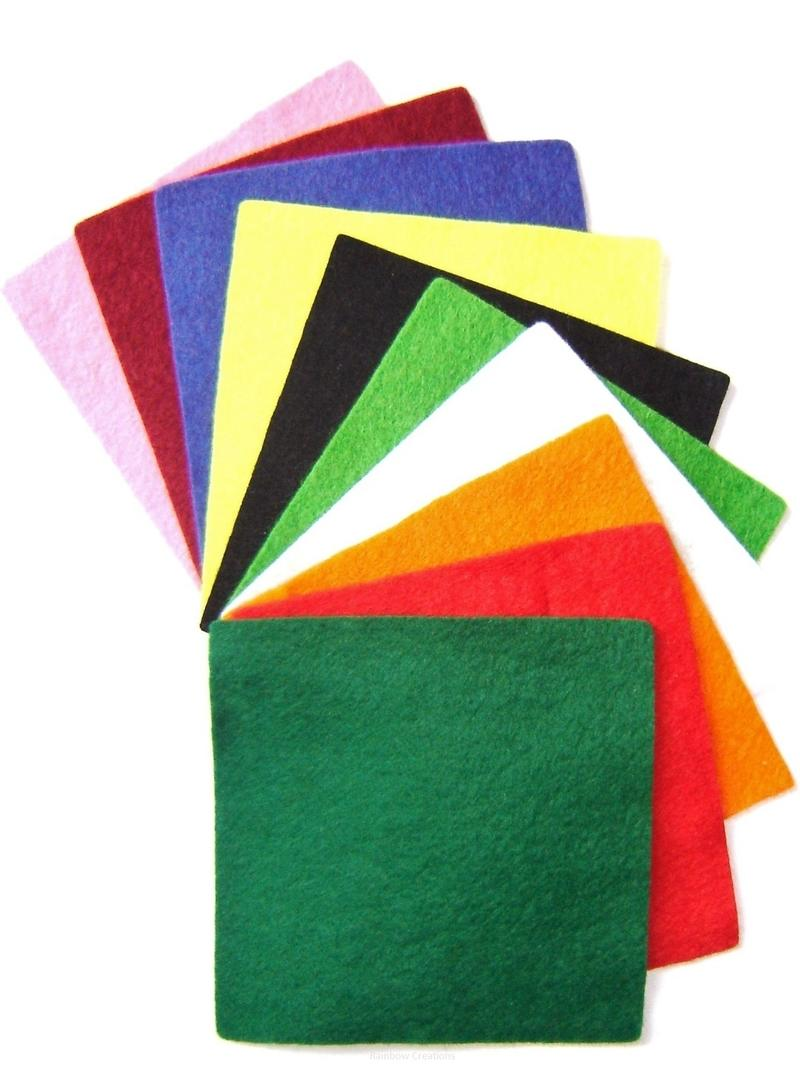 Small Felt Squares Sewing Amp Knitting Small Felt Squares