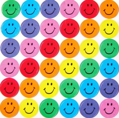 Smiley Face Stickers | Children's Stationery | Stickers
