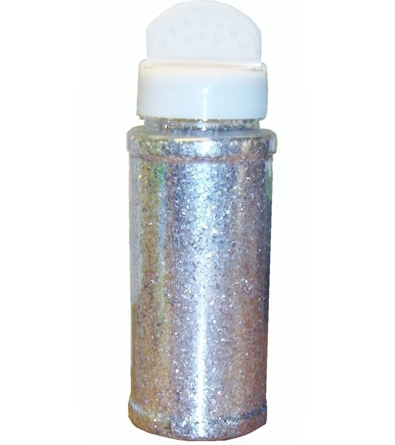 Silver Glitter Shaker Pot Children S Craft Supplies