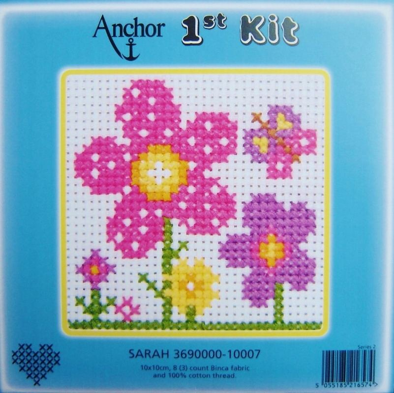 Cross Stitch Kit For Children Sewing Amp Knitting Cross