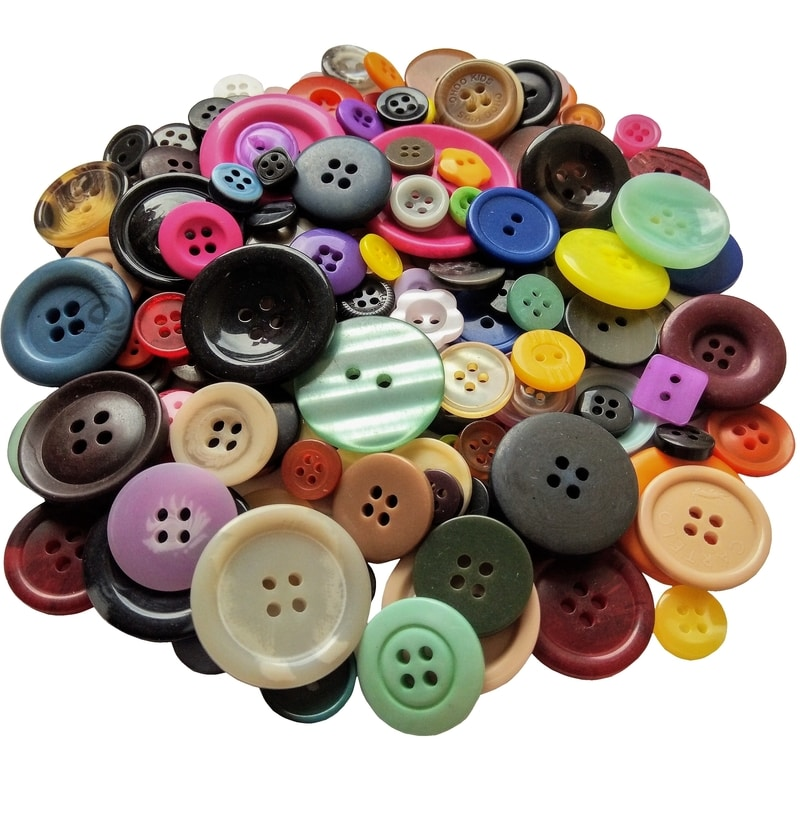 Mixed Craft Buttons