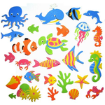 Sea Creatures Foam Stickers