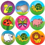 Animal Stickers for Children