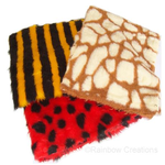 Animal Print Fun Faux Fur Fabric