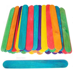 Large Coloured Lolly Sticks