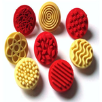 Textured Rubber Stamps