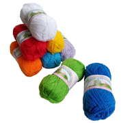 Acrylic Yarn Mixed Colour Pack