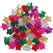 Star Shaped Pony Beads