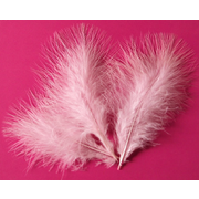 Marabou Feathers - Pale Pink Feathers