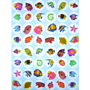 700 Sealife Paper Stickers