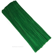 Green Pipe Cleaners 30cm long
