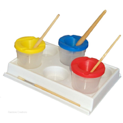 Palette To Hold Paint Pots