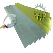 Cardboard Crowns 12 Pack