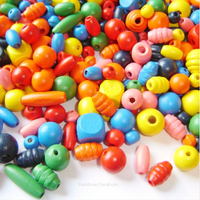 Children's Beads Wooden Craft Beads