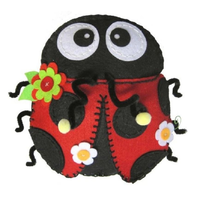 Large Felt Ladybird Kit To Sew