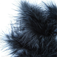 Marabou Feathers - Black Feathers