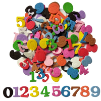 Foam Number Stickers