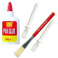 Children's Glue, Brush And Spreaders
