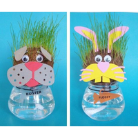 Animal Grass Head Kit