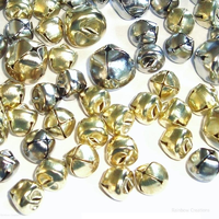 Gold and Silver Craft Bells 10mm 15mm