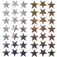 Gold Star and Silver Star Stickers 700 Pack