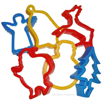 Children's Christmas Cookie Cutters