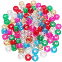 Glitter Pony Beads for Children