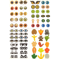 Fun Eyes and Feet Stickers