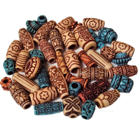 Ethnic Patterned Beads