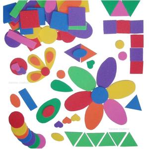 Children 39 s craft foam shapes bulk educational supplies for Craft kits for kids in bulk