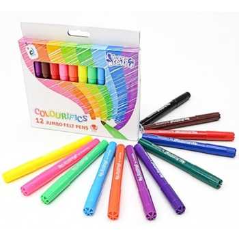 Colourifics Washable Felt Tips