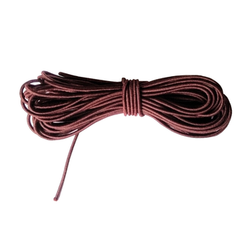 4 Metres Brown Elastic Cord, 1mm