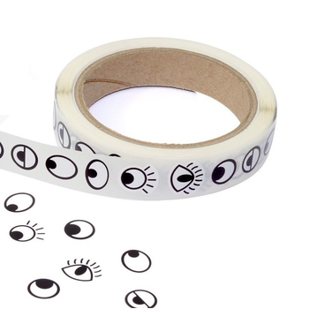 Peel And Stick Paper Eyes Stickers