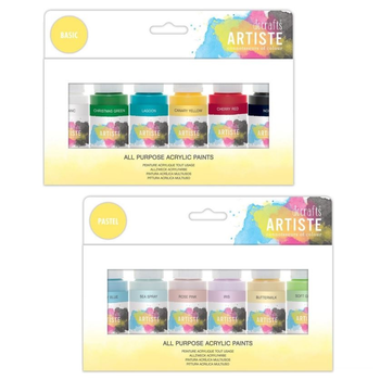 Acrylic Paint - 6 Pack 59ml