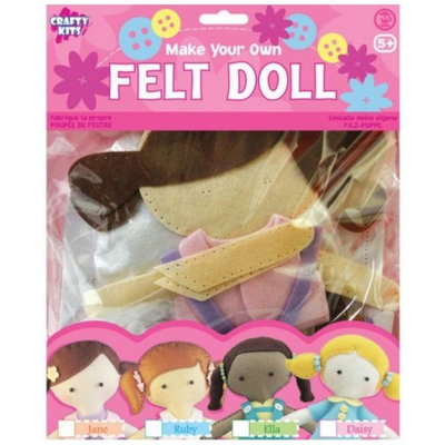 Felt Doll Sewing Kit