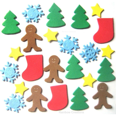 Christmas Foam Stickers