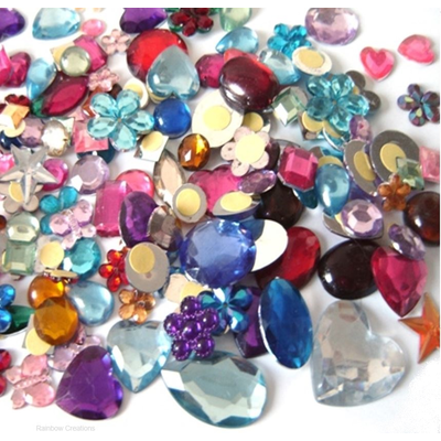 Self Adhesive Craft Gems
