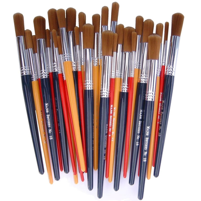 Childrens Paint Brush With Synthetic Bristles