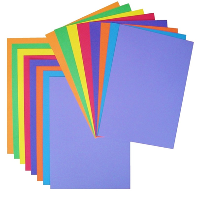 A4 Bright Card 16 Mixed Sheets