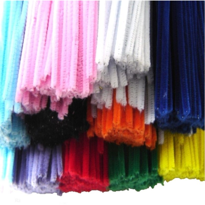 Chenille Pipe Cleaners Bulk Pack 1000 Stems
