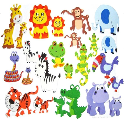 Foam Animal Stickers