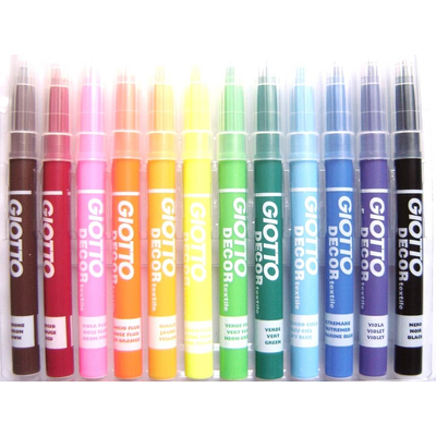Giotto Fabric Pens