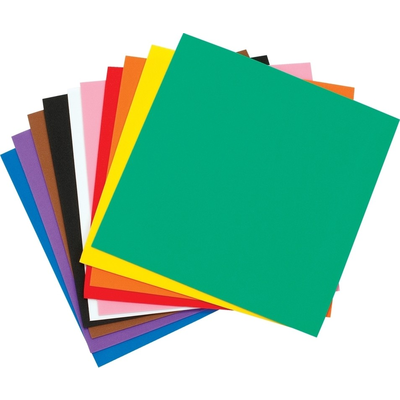 Square Foam Sheets 25cm