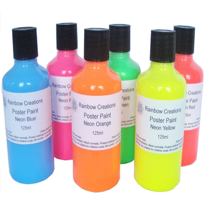 Neon Paint for Children