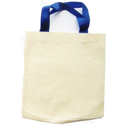 Small Plain Cotton Bag With Handles Sewing Amp Knitting